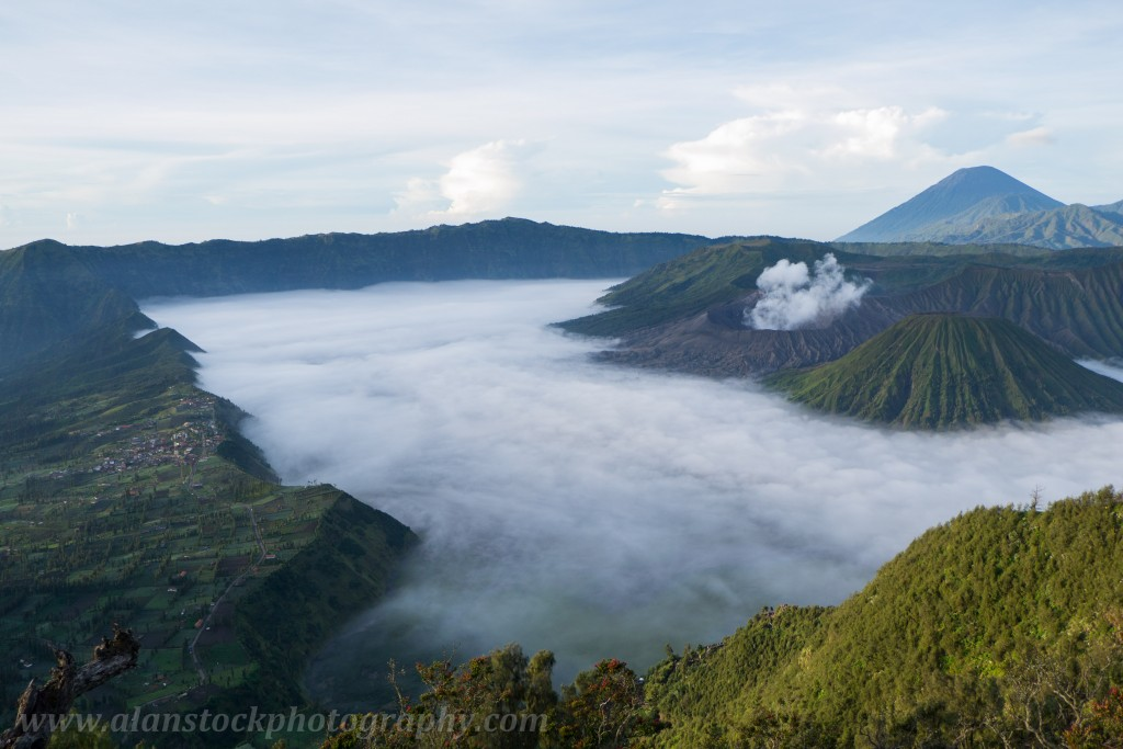 Bromo volcano and its bretheren, Java, Indonesia - May 2013