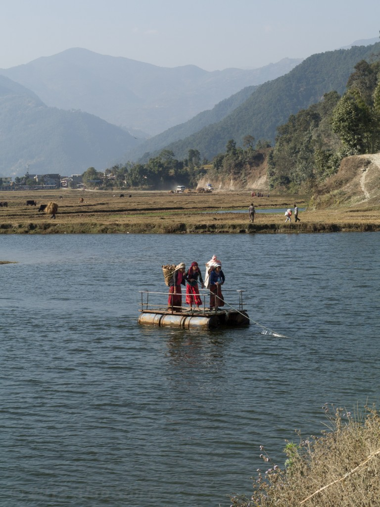 Rope ferry
