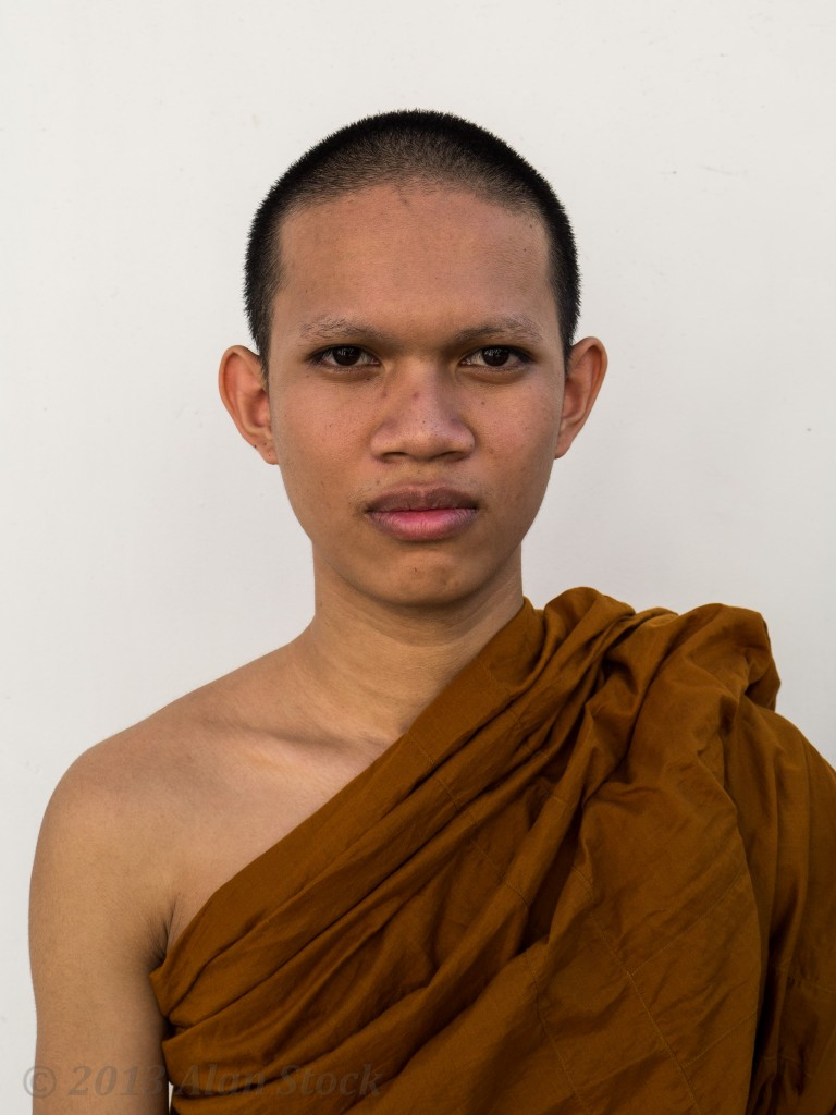 Monk at Wat Ratchanatdaram